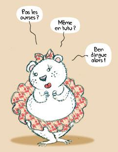 Une ourse en tutu by PrincessH