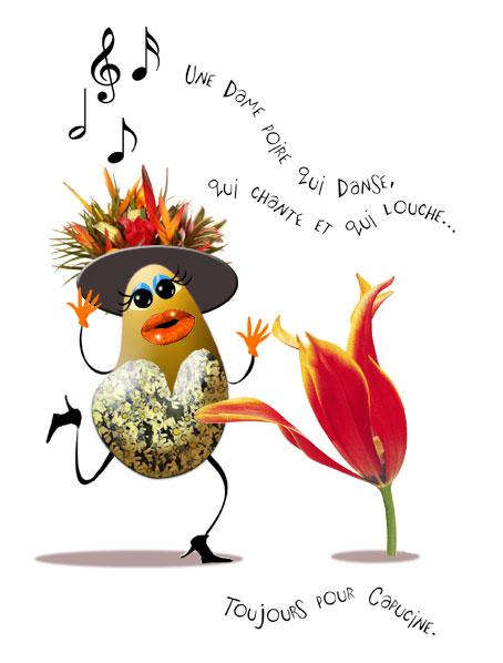 cantatrice poire