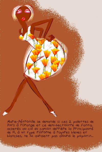 Pintel, fanta, pim's à l'orange et popotin...
