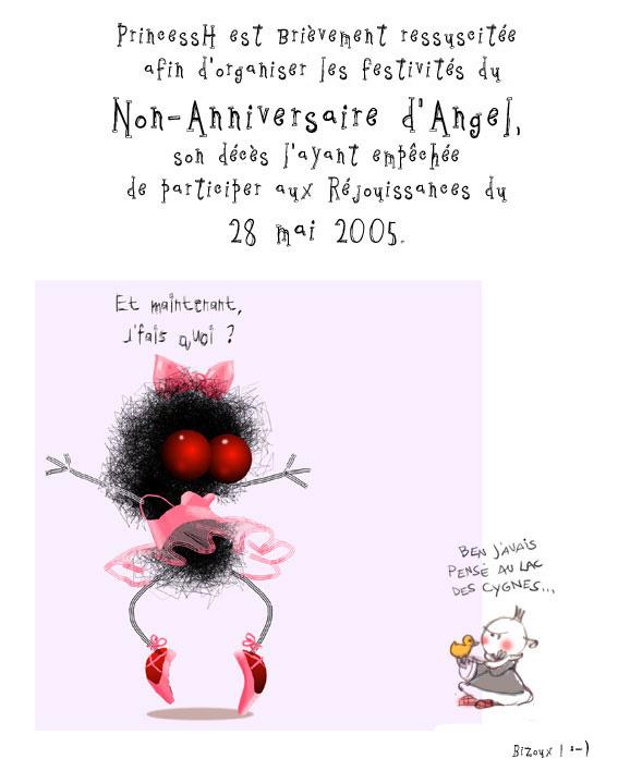 Un joyeux non-anniversaire à Angel !